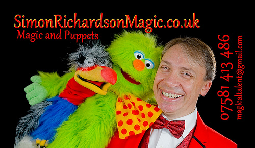 Simon Richardson Magic & Puppets